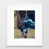vertigo Framed Art Prints featuring Vertigo by Steve Watson