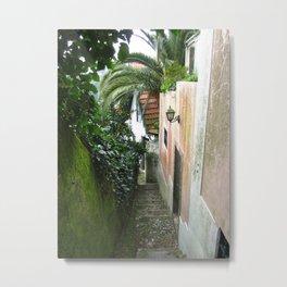 Sintra: Orange Tree Metal Print