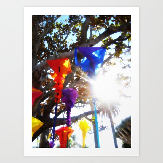 Wind Socks Art Print