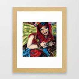 Buttercup Nature Fairy Framed Art Print