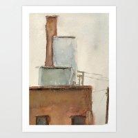 Building No. 8 Art Print