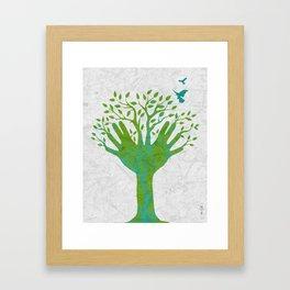 Giving Tree Framed Art Print