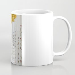 Down the golden white Coffee Mug