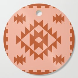 Zili in Peach Cutting Board