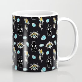Midnight Summer Magic Pattern Coffee Mug
