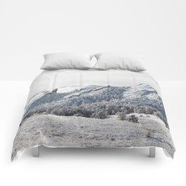 Frosty Flatirons Comforters