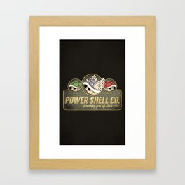 Power Shell Co. Framed Art Print