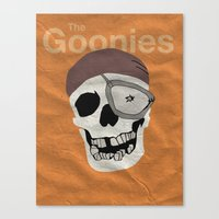 goonies Canvas Prints featuring Goonies by B. Hopt