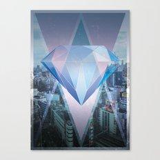 tokyo's Diamond Canvas Print