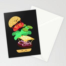 Extreme Burger Making Stationery Cards