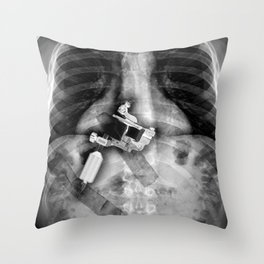 Concealed Carry Throw Pillow