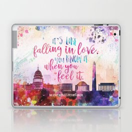 The Lovely Reckless - Like Falling in Love Laptop & iPad Skin
