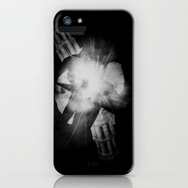 "Study for ""Friendly Fire (Aliens have kids, too)"" iPhone Case"