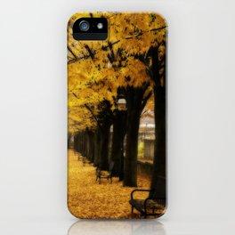 Autumn's Gold iPhone Case