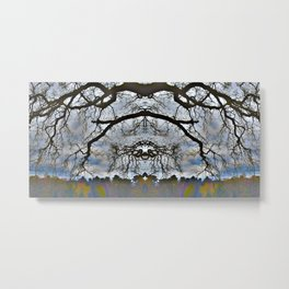 Treeflection VII Metal Print