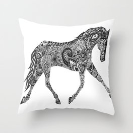 Paisley Pace Throw Pillow