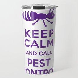 Funny Exterminator Travel Mug