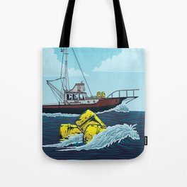 Jaws: Orca Illustration Tote Bag