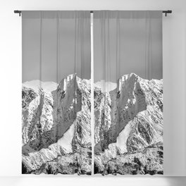 Mountain Glacier Two - Alaska Blackout Curtain