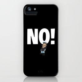 No! no.1 white iPhone Case