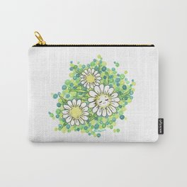 SWEET DAISY Carry-All Pouch