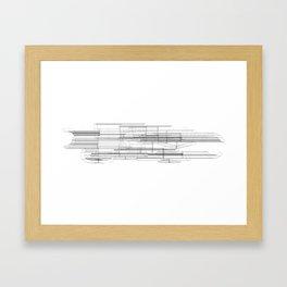 Barcode Framed Art Print