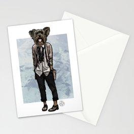 Charlotte Yorkie Stationery Cards