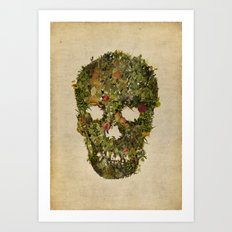 LIFE AND DEATH Art Print
