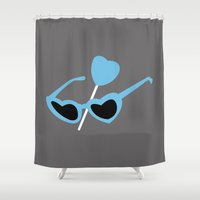 lolita Shower Curtains featuring Lolita by FilmsQuiz