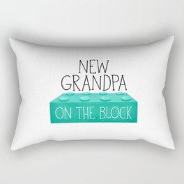 New Grandpa On The Block Rectangular Pillow