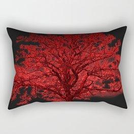 Red Tree A182 Rectangular Pillow