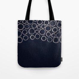 Circle Lines Tote Bag