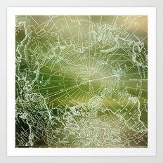 Polar Forest Art Print