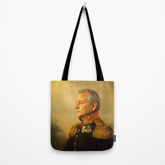 Bill Murray - replaceface Tote Bag