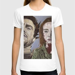 Abigail and Will 2., acrylic painting T-shirt