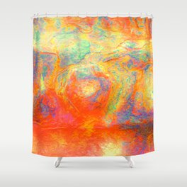 Steel 5085C - Abstract Shower Curtain