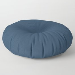 Pratt and Lambert 2019 Noir Dark Blue 24-16 Solid Color Floor Pillow