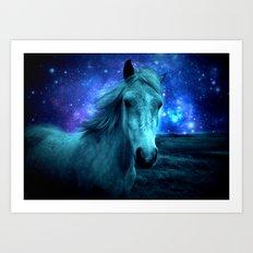 Fairy Tale Horse Art Print