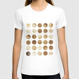 Coffee grounds T-shirt