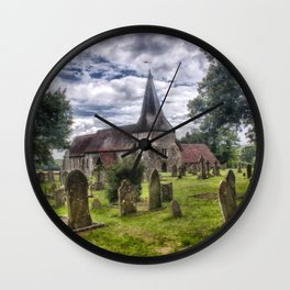 St Mary Barcombe Wall Clock