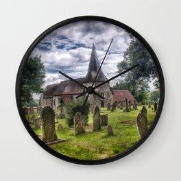 St Mary Barcombe Wall Clock