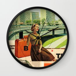 Give & Thank You Wall Clock