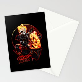 Hell on Big Wheel Stationery Cards