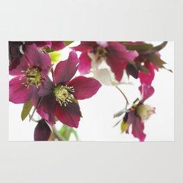 Flower impression Rug