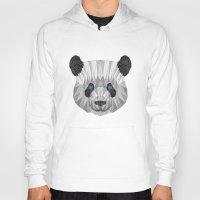 panda Hoodies featuring panda by Nir P