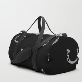 horse shoe pattern home decor Duffle Bag