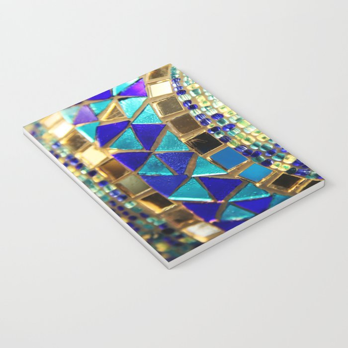 mosaic and beads [photograph] Notebook