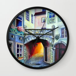 Mysteries of Luxembourg Wall Clock