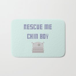 Rescue Me Chin Boy Bath Mat