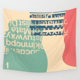 gum letter Wall Tapestry